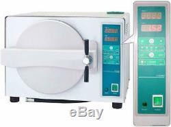 18l Autoclave Dentaire Automatique Médical Stérilisateur À Vapeur Avec Séchage Fuction Us