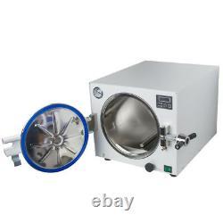 18l Autoclave Medical Steam Sterilizer Dental Lab Stérilisateur Unit +handpiece Fda