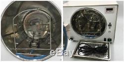 18l Autoclaves Médicale Stérilisateur Triumph Dentaire Autoclaves Stérilisateur Us Stock