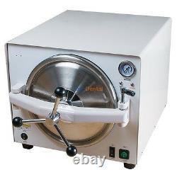 18l Bench-top Dental Autoclave Stérilisateur Médical Steam Sterilizer Equipment Ce