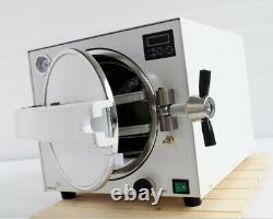 18l Dentaire Médical Autoclave Steam Stérilizer Machine De Stérilisation Tr250n 110v
