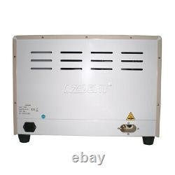 18l Dental Medical Autoclave Steam Stérilisateur Avec Fonction De Séchage 1100w 110v
