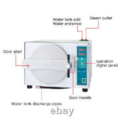 18l Dental Medical Autoclave Steam Stérilisateur Avec Fonction De Séchage Tr250c 110v