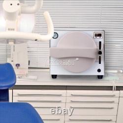 18l Dental Medical Autoclave Stérilisateur Aspirateur Vapeur Stérilisation+ouvre-bouche