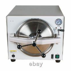 18l Dental Medical Sterilizer Autoclave Steam Sterilizer Stérilisation Equipement