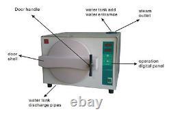18l Laboratoire Dentaire Autoclave Steam Stérilizer Équipement Médical 220v