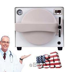 18l Médicale Vapeur Autoclave Stérilisateur Appareil Dentaire Équipement De Laboratoire Garantie Complète