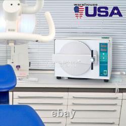 18l Professionnel De La Vapeur Médicale Autoclave Stérilisateur Équipement De Laboratoire Dentaire 110v