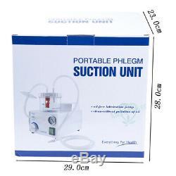1pc 110v / 220v Laboratoire Dentaire Portable Unité D'aspiration Médicale À Vide Aspirateur Flegme