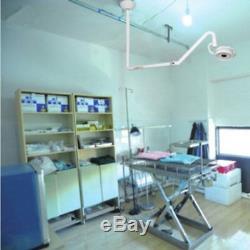 1x 36w Monté Au Plafond Led Examen Médical Chirurgical Dentaire Lumière Lampe Shadowless
