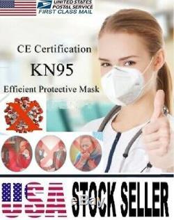 200 Pcs Kn95 Masque Facial Médical, Chirurgical, Dentaire 5 Couches Bouche Couverture Bouclier