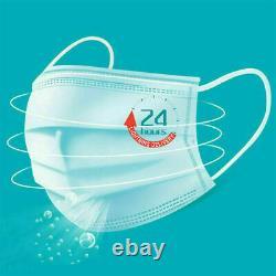 20-1000 Masque Facial Medical Surgical Dental Disposable 3-ply Earloop Bouche Cover