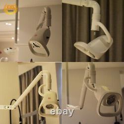 21w Plafond Réglable Lampe D'examen Dentaire Led Chirurgical Médical Lumière Sans Ombre