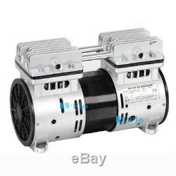 220 V Mini Membrane Dentaire Pompe À Vide De Laboratoire Médical 550w Pompe À Air 2.4cfm