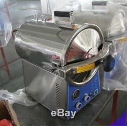 24l Dentaire Autoclaves Vapeur Stérilisateur Stérilisation Médicale Lab Equipment Dhl