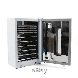 27l Cabinet Dentaire Médical Stérilisateur Uv Désinfection Avec Minuterie + 10 Plaques 110v