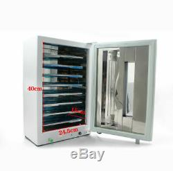 27l Dentaire Médicale Stérilisateur Uv Avec Minuterie Numérique De Désinfection Cabinet + Plaques