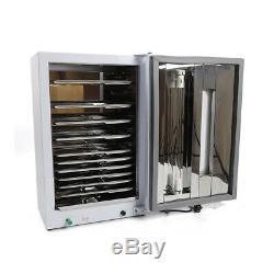 27l Dentaire Médicale Stérilisateur Uv Désinfection Cabinet + 10 X Stérilisation Plateaux