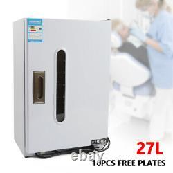 27l Dental Medical Uv Désinfection Cabinet Stérilisateur Lab Equipment 110v
