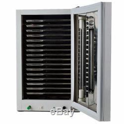 27l Médicale Chirurgie Dentaire Instruments Stérilisateur Uv Désinfection Cabinet + Plateau