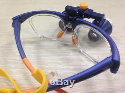 2.5x420mm Binocular Dentaire Médicale Loupes Galileo Cadre Loupe Fd-503g