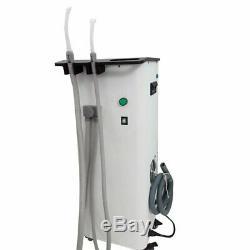 370w Portable Unité D'aspiration Sous Vide Dentaire Médicale Machine À Haute Pompe À Vide -11kpa