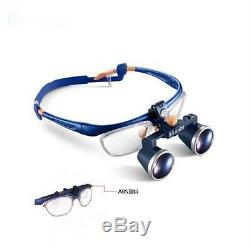 3.5x420mm Dental Loupes Binoculaires Galileo Cadre Fd-loupe Médicale 503g Us