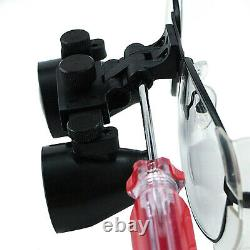 3.5x Grossissement Galilean Style Titanium Frame Dental Medical Surgical Loupes