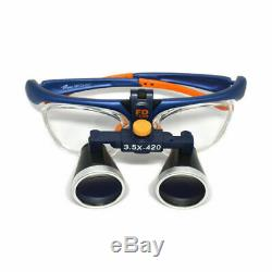 3.5x Médical Galileo Loupes Chirurgical Loupes Binoculaires Dentaire Loupe 420mm