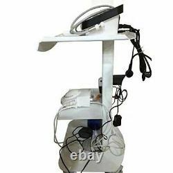 3 Couches Métal Intégré Dans Socket Outil Cart Chariot Clinique Médicale Dentaire Trolly