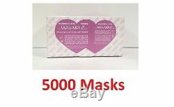 5000 Earloop Masque Visage 3pli Dentaires À Usage Unique Médical Chirurgical Grippe Poussière Nail-fda