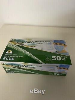 500 Pcs Visage Masque Livraison Gratuite Bleu Medical Dental En Stock