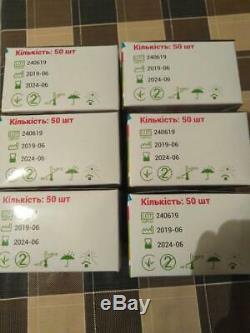 50 Boîtes À Usage Unique Masque Chirurgical Médical Dentaire Earloop Anti-poussière 3-ply