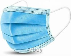 50 Masque De Visage De Niveau II Médical Chirurgical Dentaire Jetable 3-ply Bfe 98%