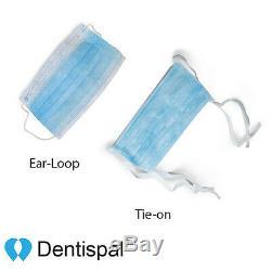 50 Pcs 3 Masques Ply Premium Dentaire Boucle Chirurgicale Oreille Médicale Masque Visage