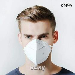 50 Pcs K-n95 Respirateurs Masque Facial Chirurgical Médical Dentaire Autorisé Vendeur Fda
