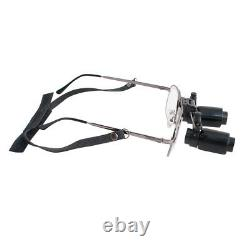 5.0x 300-500mm Loupes Dentaires Loupes Chirurgicales Loupe Binoculaire Chirurgicale Lunettes + Cas
