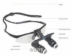 5.0x Loupes Dentaires Chirurgicales Jumelles Loupes Loupes Médicales Loupes Médicales Loupes 420mm
