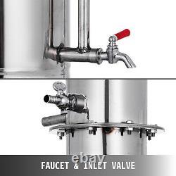 5l Distillateur D'eau Pure De Laboratoire En Acier Inoxydable Moonshine Medical Home Dental Clinic