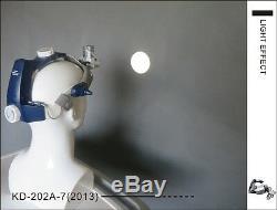 5w Chirurgie Dentaire Led Médicale Head Light Kd-202a-7le Bandeau Type