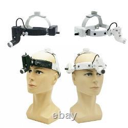 5w Led Chirurgicale Tête Médicale Dentaire Lumière Phare Bandeau Spot Tête De La Lampe Ent