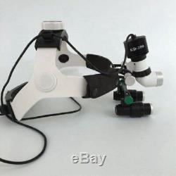5w Led Médicale Dentaire Headlight Head Light Kd-202a-6 Avec 6x Loupes Binoculaires