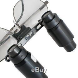 6.0x 6x R (300-500mm) Dental Loupes Médical Chirurgical Cadre Jumelle Titaniu