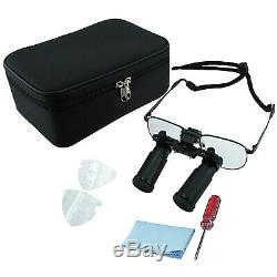 6.0x Grossissement Prismatic Keplerian Style Loupes Médicales Et Chirurgicales Dentaires