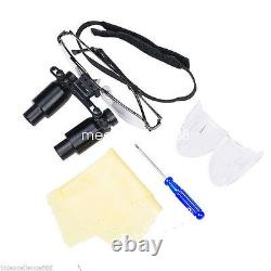 6.5x Loupes Médicales Dentaires Loupes Binoculaires Chirurgicales Loupe Loupe Lunettes Confort