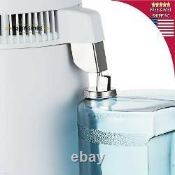 6l Home Dental Medical Pure Water Distiller Purificateur Acier Inoxydable Interne