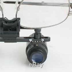 6x 300-500mm Portable Dentaire Loupes Binoculaires Chirurgie De Chirurgie Médicale Loupes