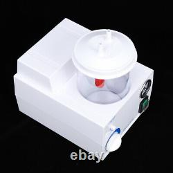 90va Portable Dental Medical Emergency Vacuum Flegme Aspiration Unit Electric 110v