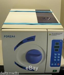 Autoclave Dentaire Médicale 22 Classe B Lts Vapeur Sous Vide Stérilisateur Forza4