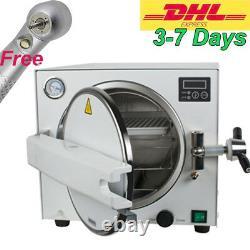 Autoclave Medical Steam Sterilizer Unit Avec Plateau 18l 134/0.22mpa Dental Lab Ce